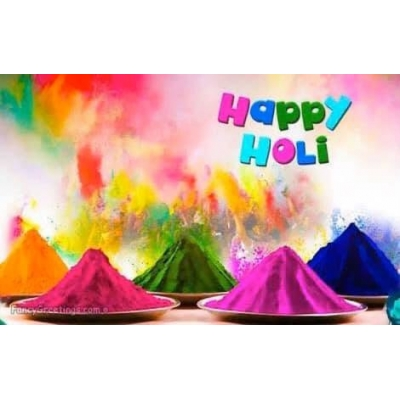 Happy Holi to All India Friends